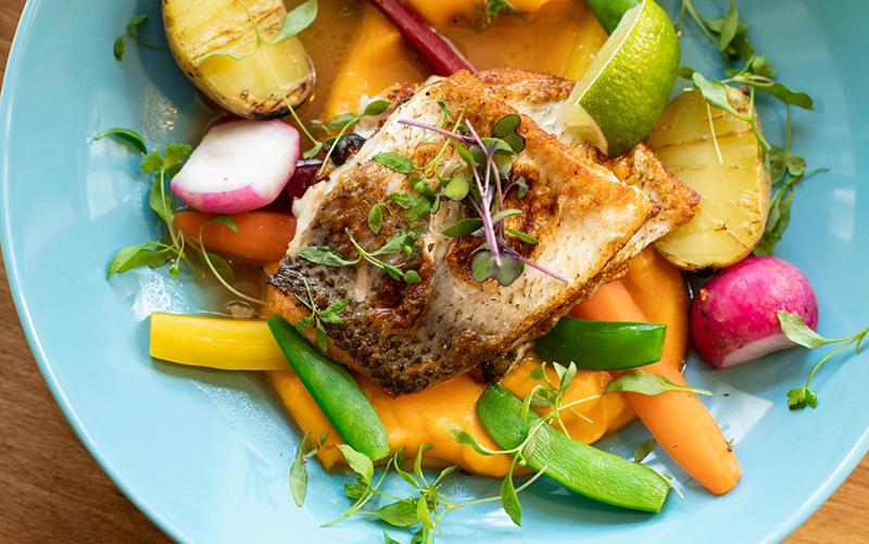 Meilleure rôtissoire : légumes poisson