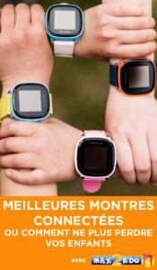 Les meilleures montres connectées pour enfant