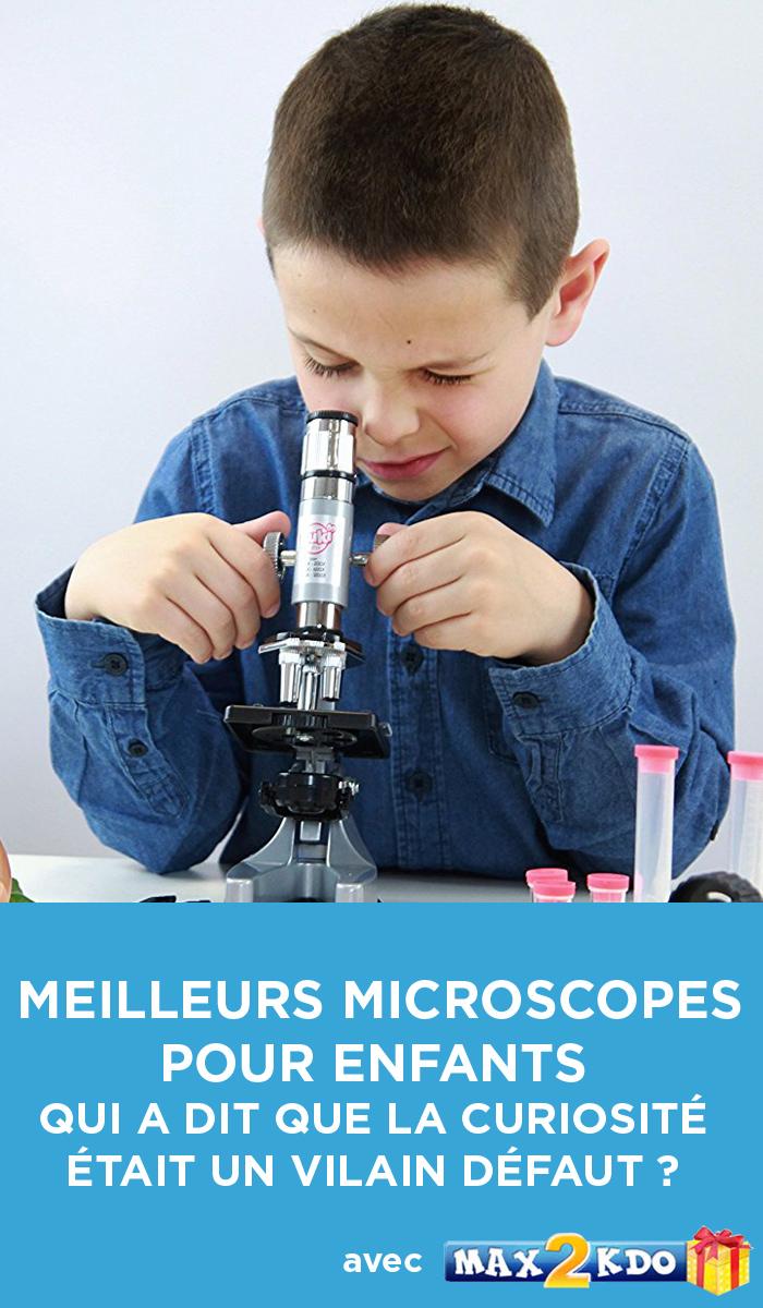 Top des meilleurs microscopes pour enfant