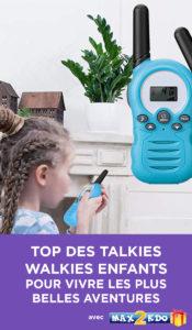 Comparatif des meilleurs talkie walkies pour enfant