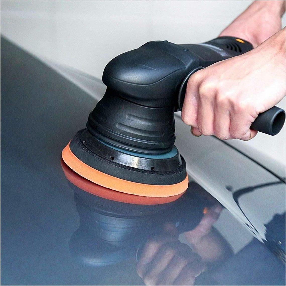 SPTA 500W 1800-4800 polisseuse lustreuse pour voiture spécial zones d'accès difficile 3