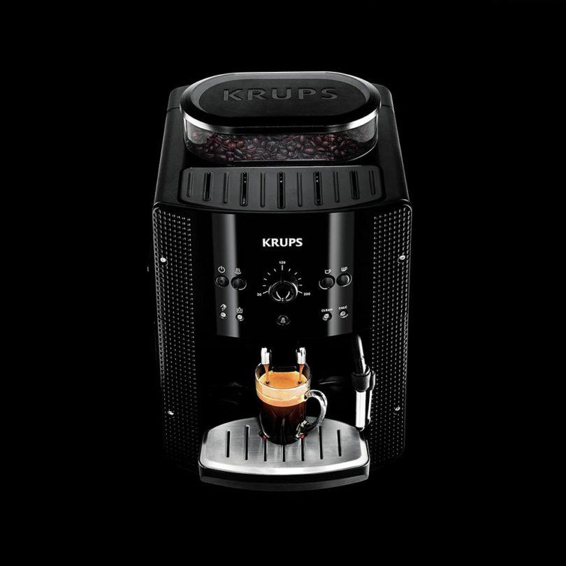 Krups Espresso Automatic EA8108 : préparation expresso