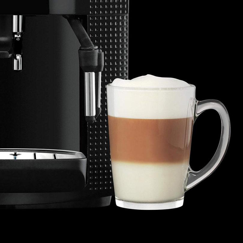 Krups Espresso Automatic EA8108 : café grain et mousse de lait
