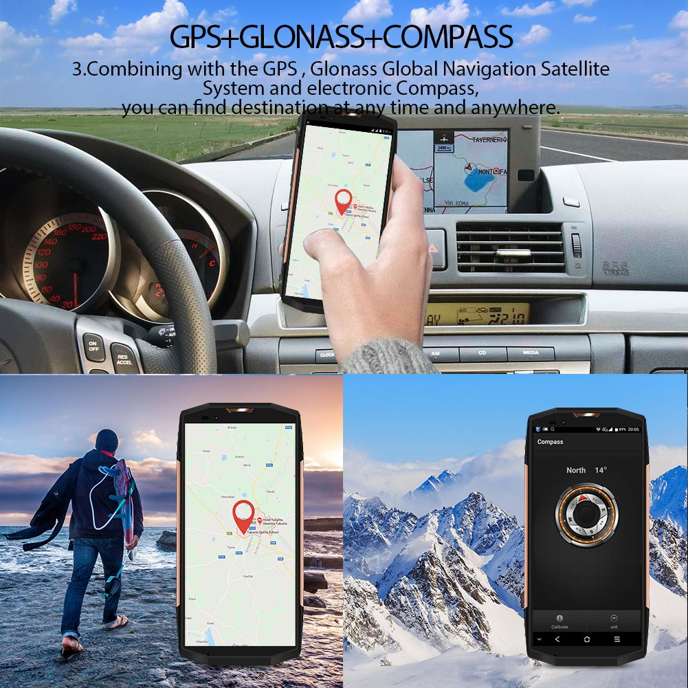 Blackview BV9000 smartphone IP68 militaire - 6