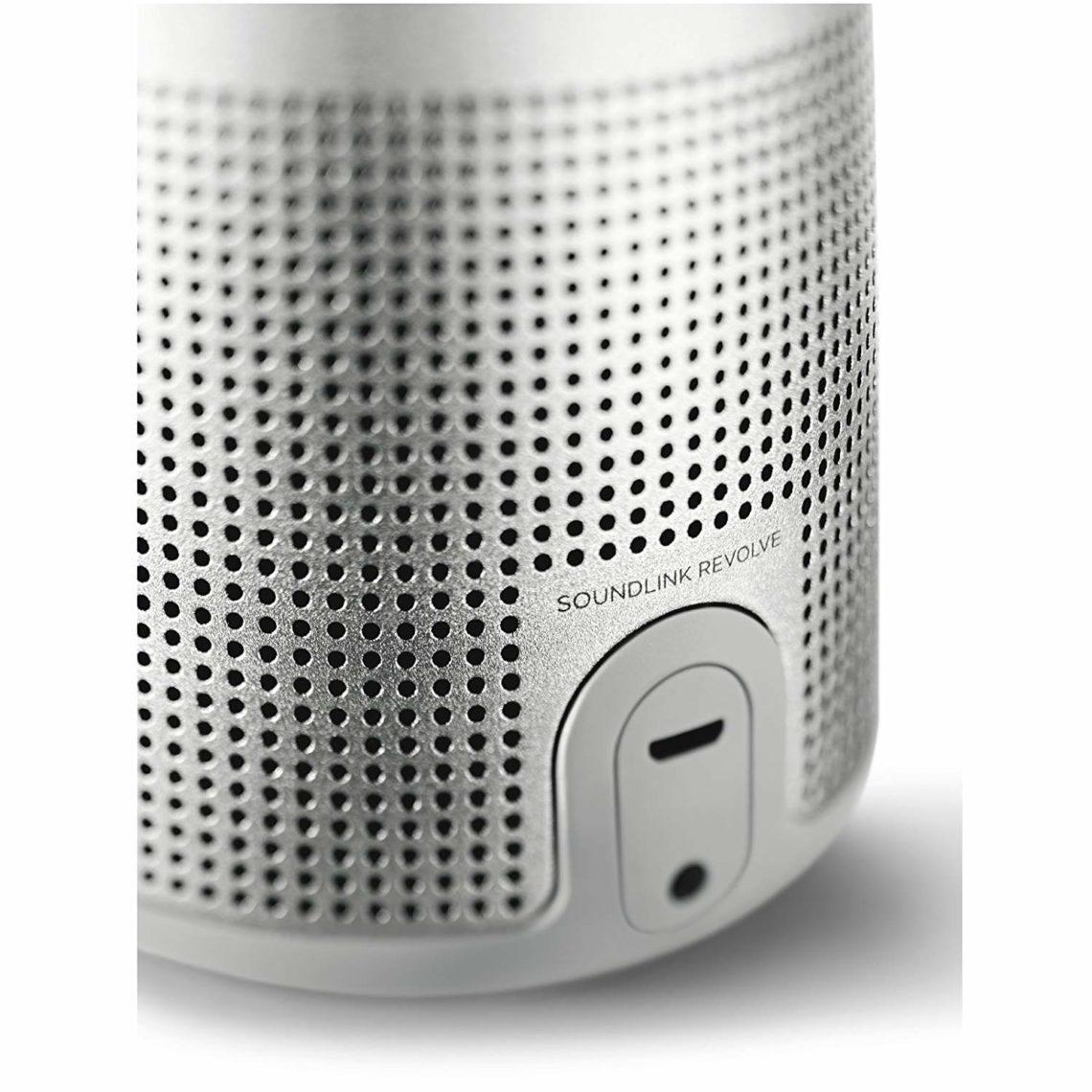 Bose SoundLink Revolve Enceinte Haut-parleur Bluetooth prise jack et charge usb c