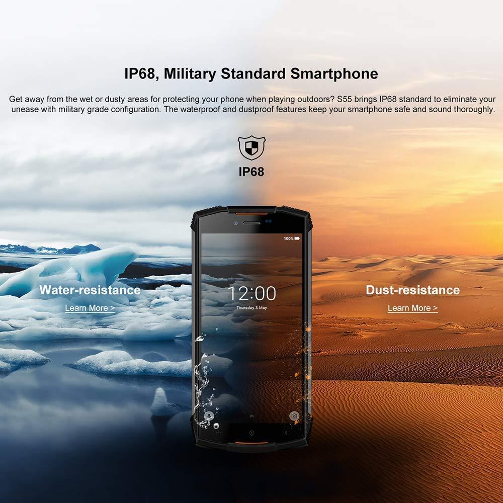 DOOGEE S55 smartphone résistant étanche et antichoc - 2