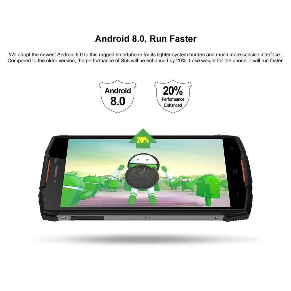 DOOGEE S55 smartphone résistant étanche et antichoc - 4