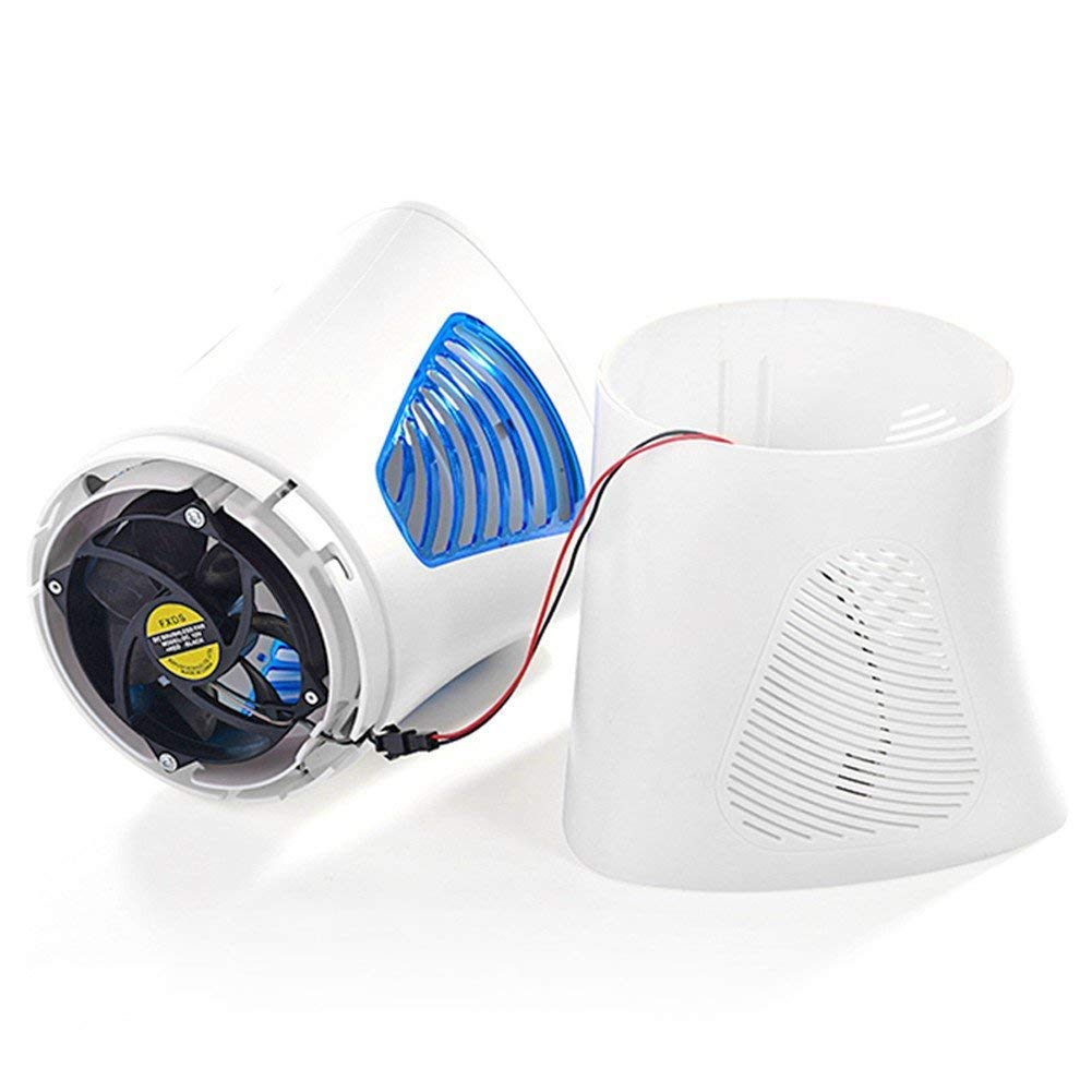 FOCHEA Lampe Anti-Moustiques photocatalyseur d'intérieur chambre séjour salon - 7 démontable