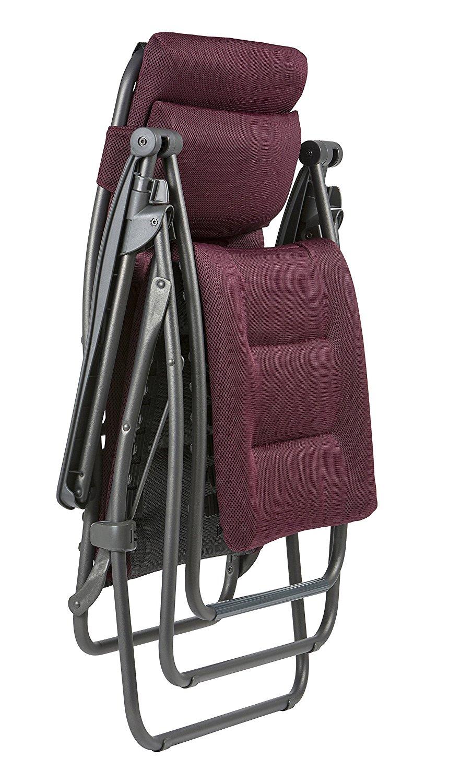 Fauteuil réglable relax Lafuma Air Comfort LFM2038-6185 -1 position repliée
