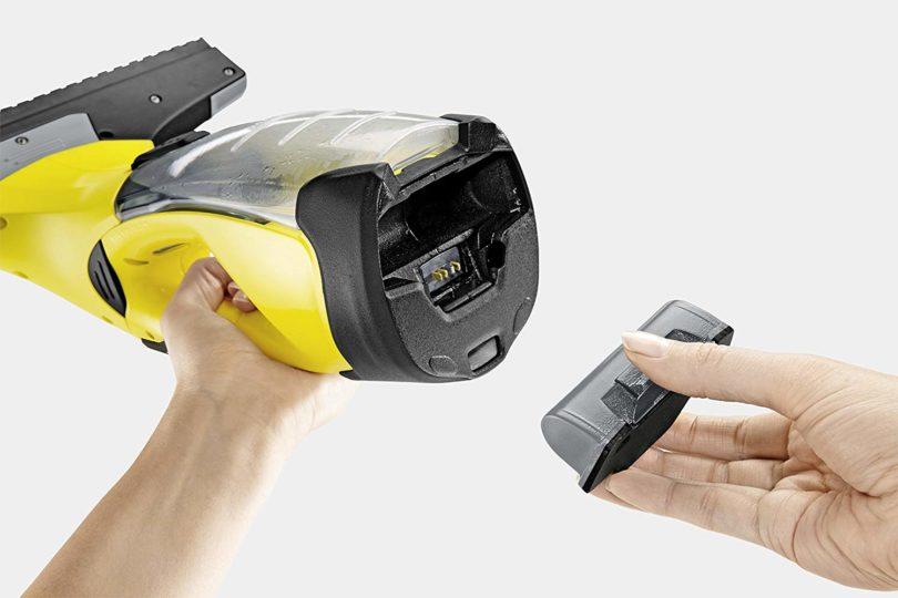 Kärcher Nettoyeur de vitre et fenêtres WV 5 Premium - 6 batterie amovible