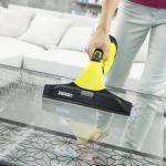 Kärcher Nettoyeur de vitre et fenêtres WV 5 Premium - 7 nettoyeur karcher table basse en verre