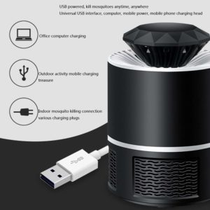 Leeny USB lampe anti moustique photocatalyseur d'intérieur