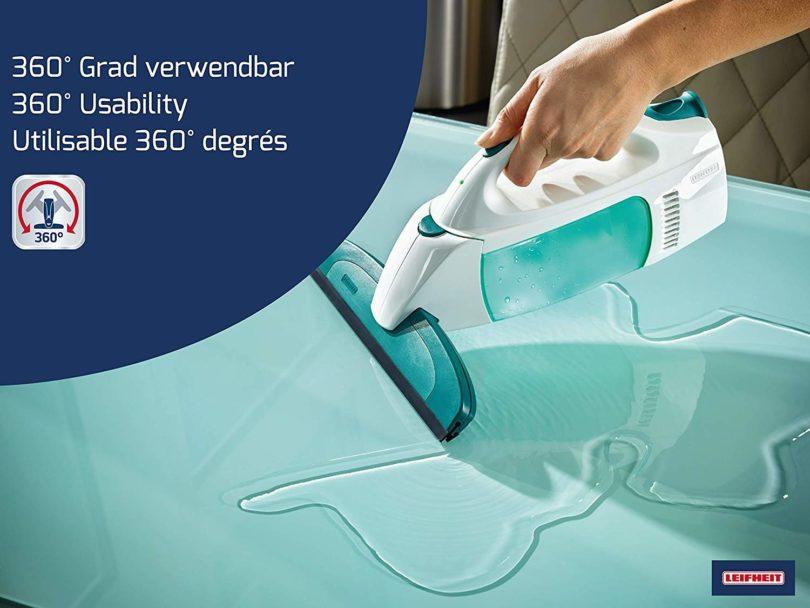 Leifheit Kit nettoyeur aspirateur à vitres Dry & Clean-3