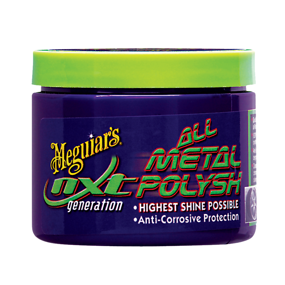 Meguiars G13005EU NXT Metal Polish -2 nouveau packaging