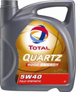 Total Quartz 9000 5W40 Motor Oil, 5L