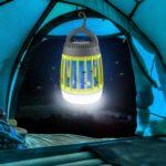 WloveTravel lampe anti moustique UV portable d'extérieur et de voyage - camping - 5