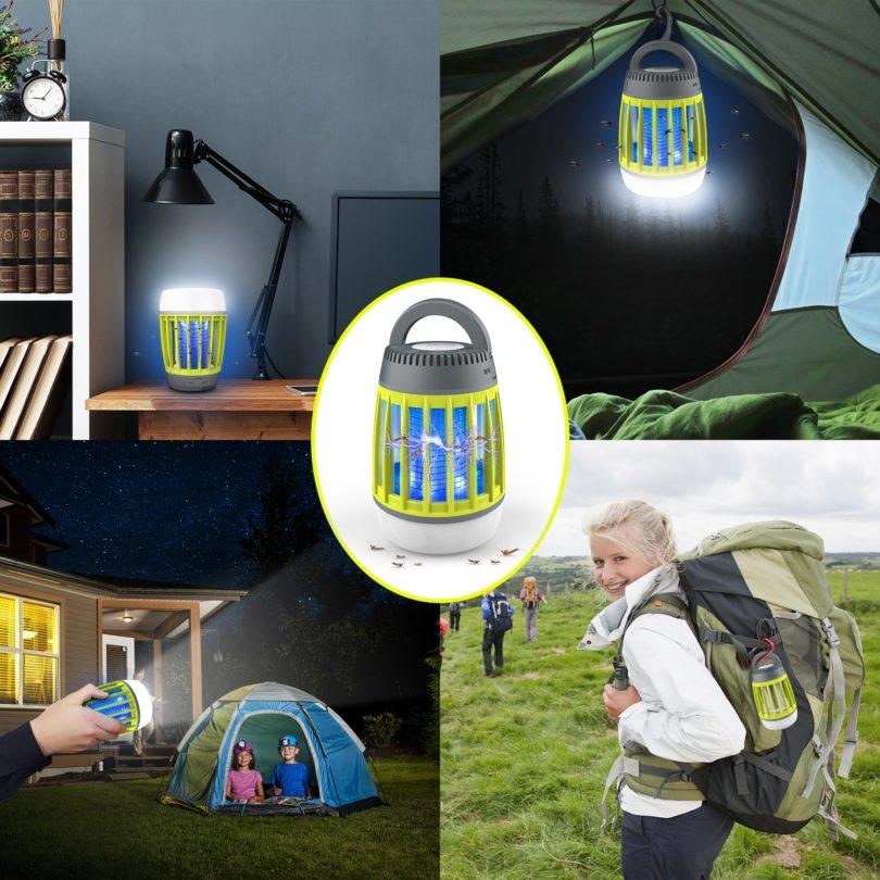 WloveTravel lampe anti moustique UV portable d'extérieur et de voyage - camping - 6