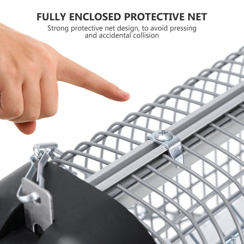 YUNLIGHTS lampe anti moustique et anti insectes UV intérieur et extérieur -4 sécurité