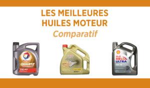 Comparatif des meilleures huiles moteur
