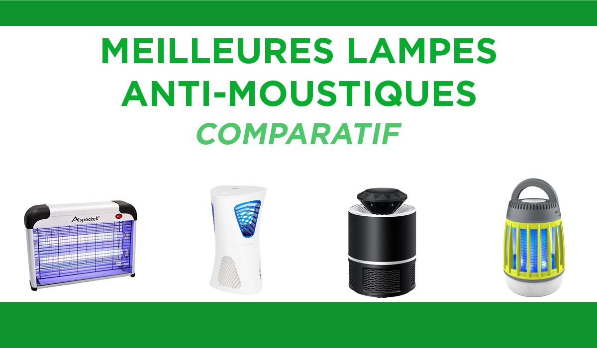 Comparatif des meilleures lampes anti-moustiques