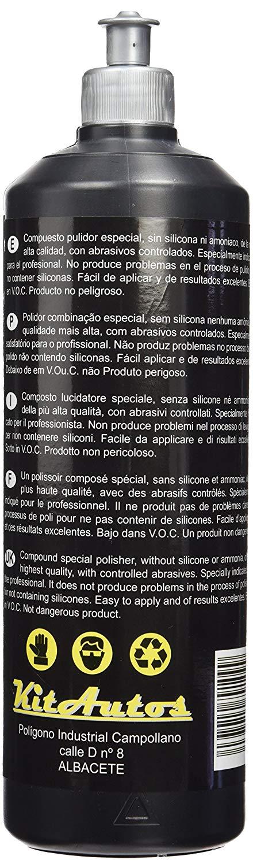 kitauto pu1pl liquide de polissage pour phares et plastiques - 2