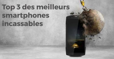 Top 3 Comparatif des meilleurs smartphones incassables