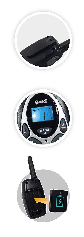 Buki - TW02 - Talkie Walkie Rechargeable-8