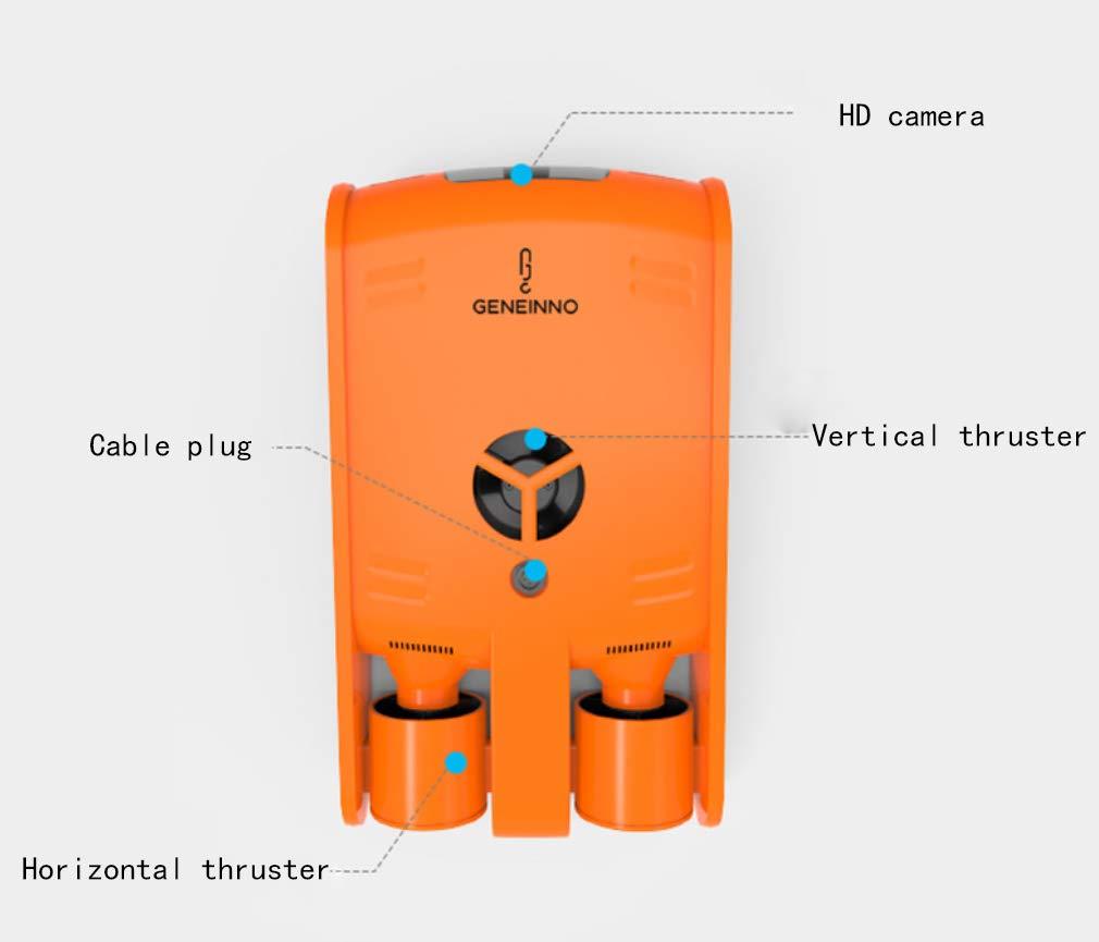 HYLH Drone sous-Marin caméra plongée nautique pour adulte - 3