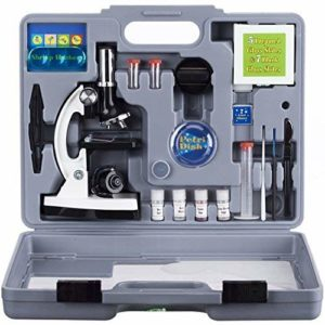 AmScope M30-ABS-KT2-W Beginner Microscope Kit