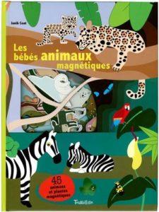 livre magnetique animaux