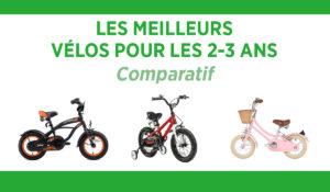Comparatif des meilleurs vélos pour enfant de 2-3 ans