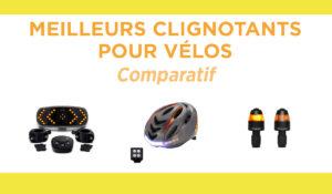 Comparatif des meilleurs clignotants pour vélos
