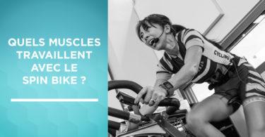 Muscles sollicités avec le spin bike